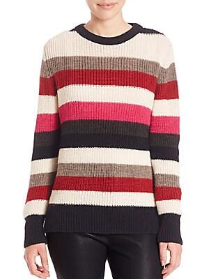 Solal Striped Rib-Knit Sweater