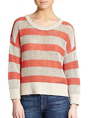 Candace Striped Sweater