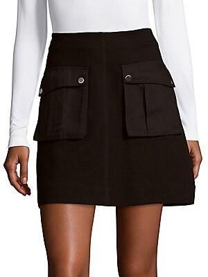 Ponte Pocket Mini Skirt