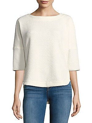 Boatneck Hi-Lo Top