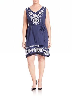 Macie Tie-Back Dress