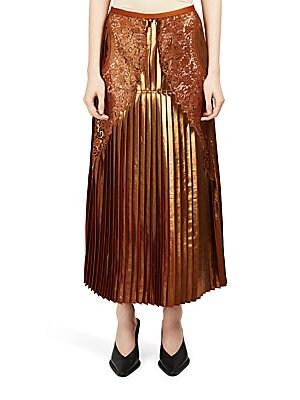 Sienna Plisse Midi Skirt