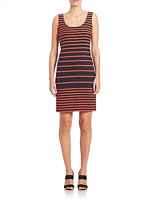 Graphic Stripe Dress