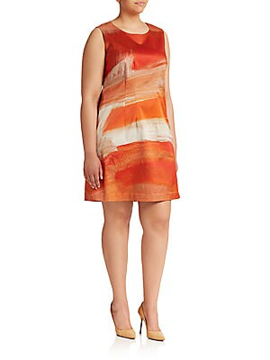 Tech Satin Dress