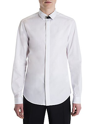 Solid Long Sleeve Dress Shirt