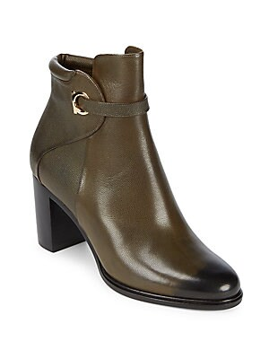 Florian Cap Toe Leather Booties