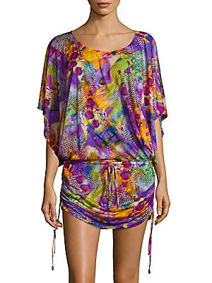 Sobe Scoopneck Printed Dress
