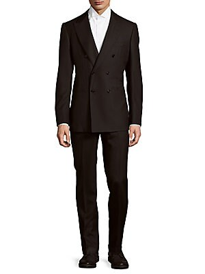 abla male modern fit doublebreasted wool suit