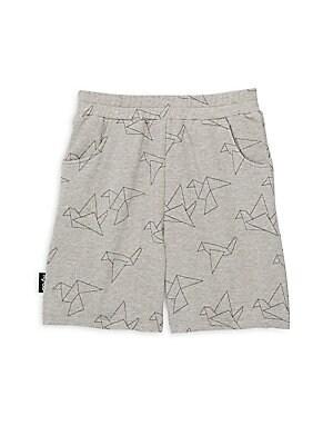 Little Boy's & Boy's Solid Cotton Shorts