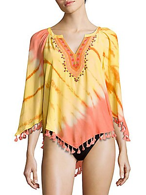 Fringed Cover-Up Tunic