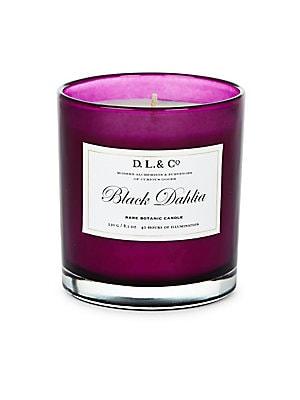 Black Dahlia Rare Botanic Candle/8.1 oz.
