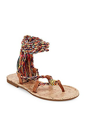 Beth Braided Wrap Sandal
