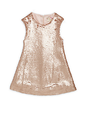 Little Girl's & Girl's Neve Sequined Dress