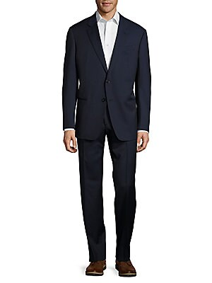 Crisp Wool Suit