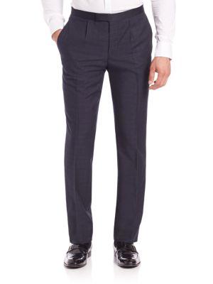 Modern Wool-Blend Tuxedo Pants Saks Fifth Avenue