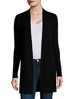 Analiese Cashmere Open-Front Cardigan