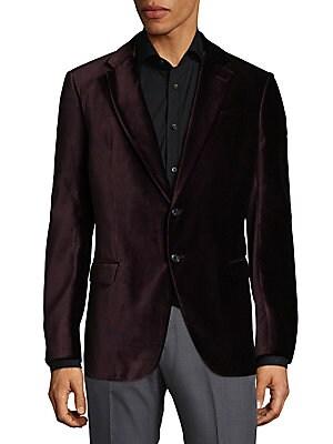Slim Velvet Jacket