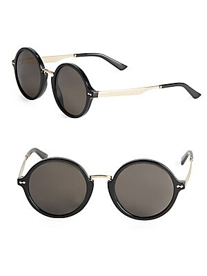 gucci female 53mm rounded sunglasses