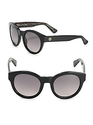 gucci female 51mm fullrim cats eye sunglasses