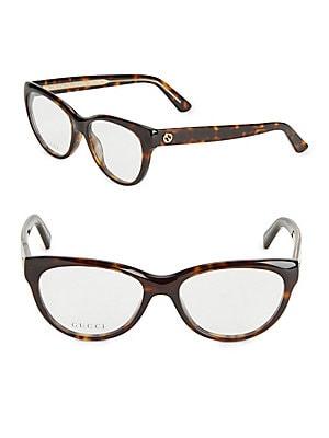 50MM Tortoiseshell Cat Eye Optical Glasses
