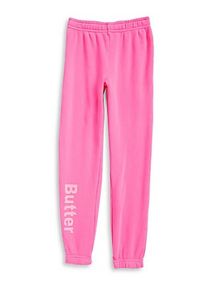 Girl's Fleece Varsity Sweatpants