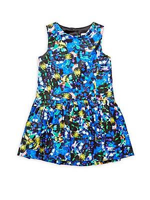Little Girl's Dropwaist Party Dress