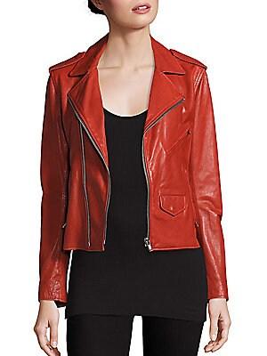 Vintage MC Leather Moto Jacket