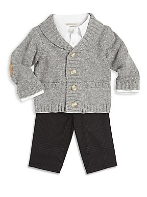 Click here for Babys Sweater  Shirt & Trousers Set prices