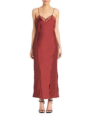 Lucille Satin Slip Dress