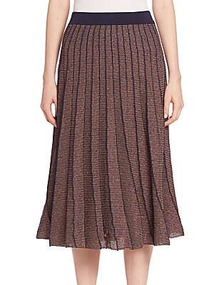 Metallic Josie Skirt