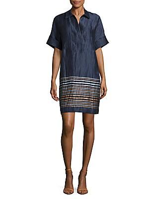 Adriatic Striped Mitra Dress