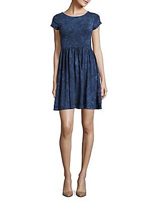 Beach Jersey Roundneck Dress