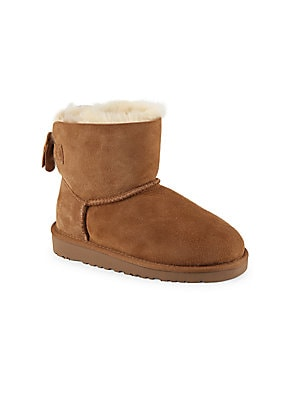 Girl's Kandice Shearling-Lined Boots