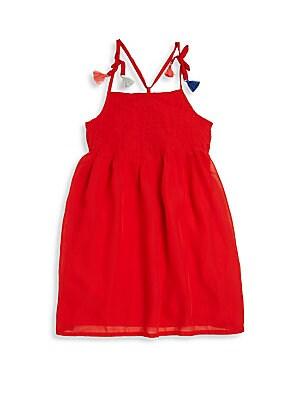 Little Girl's & Girl's Voile Dress