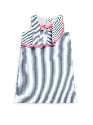 Little Girl's Seersucker Striped Dress