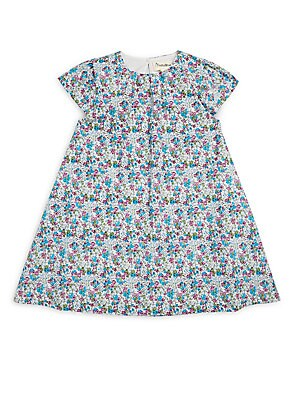 Little Girl's Ditsy Floral-Print Dress