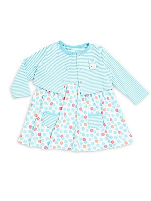 Baby's Two-Piece Jacket & Dress Set