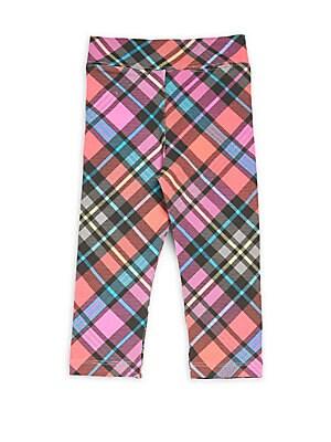 Little Girl's Plaid Cotton-Blend Pajama Pants