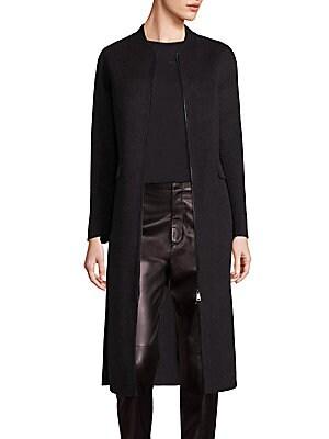 Shell Wool Coat