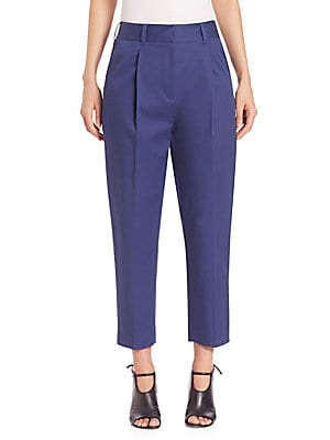 31 phillip lim female carrot cropped pants