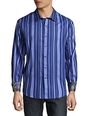 Burano Cotton Casual Button-Down Shirt
