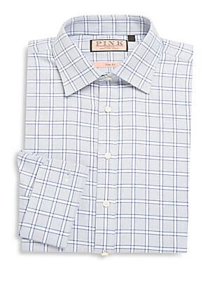 Check Pattern Dress Shirt