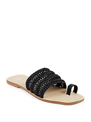 Open-Toe Slide Sandals