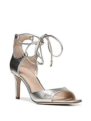 Rimini Leather Wrap Strap Sandals