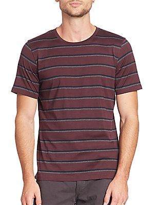 K-Tricolor Striped Tee