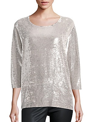 Alya Sequin Top