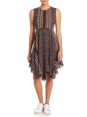 Hartmann Printed Sleeveless Dress