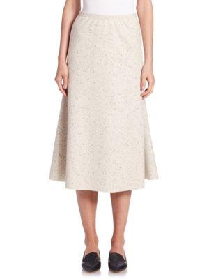 Wool Jersey Tulip Skirt