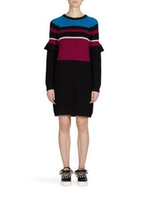 Ribbed Wool Sweater Dress KENZO