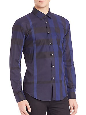 Southbrook Checked Cotton Button-Down Shirt
